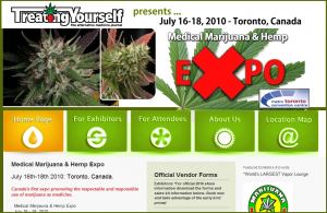 The Medical Marijuana & Hemp Expo Website